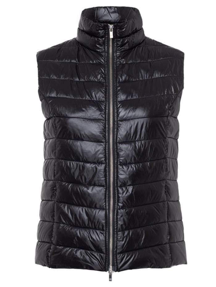 Riani Tops Riani Quilted Black Gilet 395480-3563 999 izzi-of-baslow