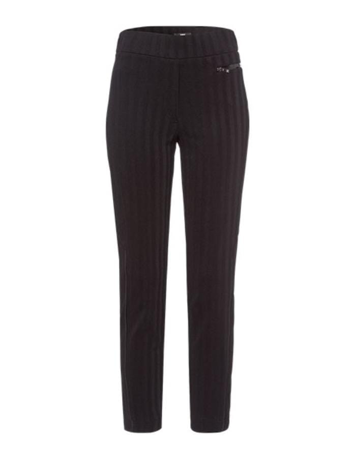 Riani Trousers Riani Black Medium Weight Long Pull On Trouser 703260 5357 999 S izzi-of-baslow