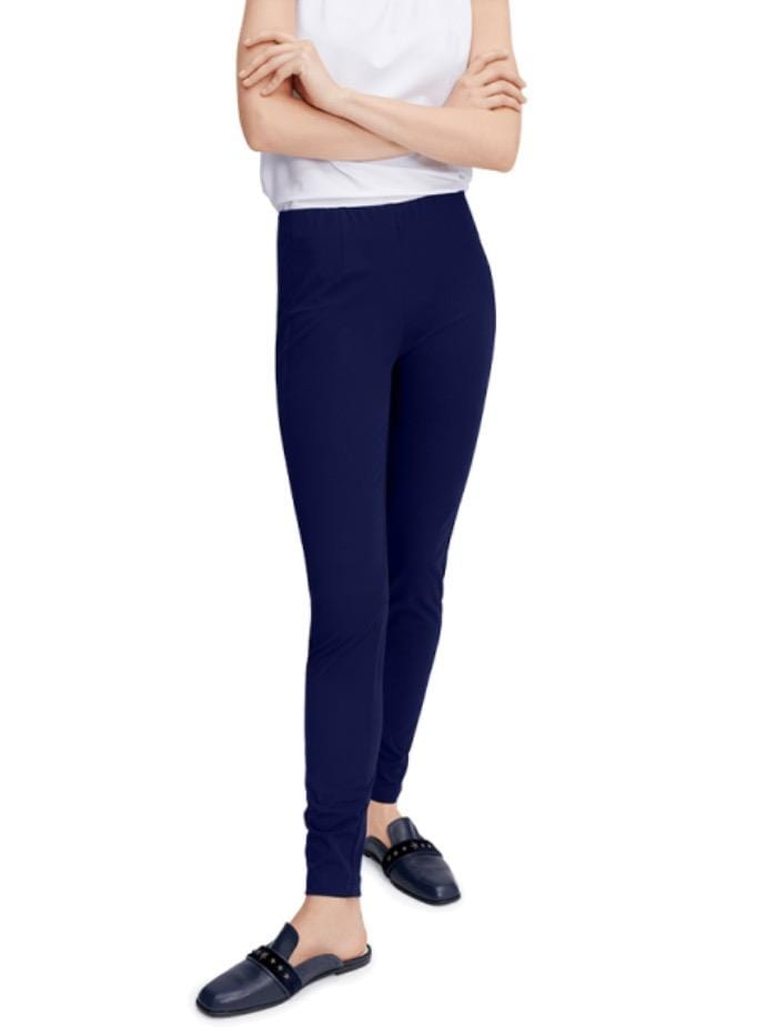 Riani Trousers Riani Deep Blue Long Pull On Trouser 773270 2162 421 izzi-of-baslow