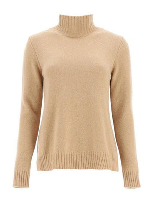 Weekend By Max Mara Knitwear S / camel Weekend by Max Mara Vino Jumper in Recycled Camel Cashmere 53662603600 izzi-of-baslow