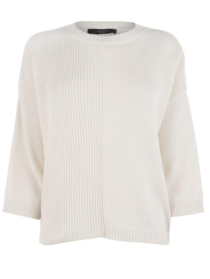 Weekend By Max Mara Knitwear Weekend by Max Mara Gianna Jumper in Off White 53662399600 1 izzi-of-baslow