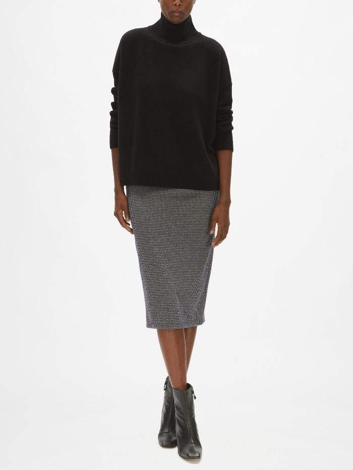 Weekend By Max Mara Knitwear Weekend by Max Mara Tondo Jumper in Black Virgin Wool 53660603 izzi-of-baslow