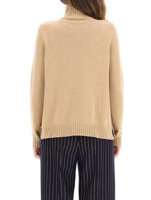 Weekend By Max Mara Knitwear Weekend by Max Mara Vino Jumper in Recycled Camel Cashmere 53662603600 izzi-of-baslow