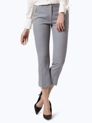 Weekend By Max Mara Trousers Weekend By Max Mara Patterned Grecia Trousers 51310287 izzi-of-baslow