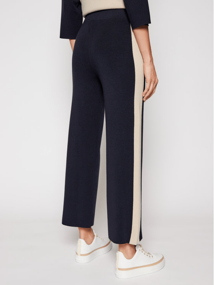 Weekend By Max Mara Trousers Weekend Max Mara TECNICO Knit Wide Leg Trouser 53310117600 izzi-of-baslow