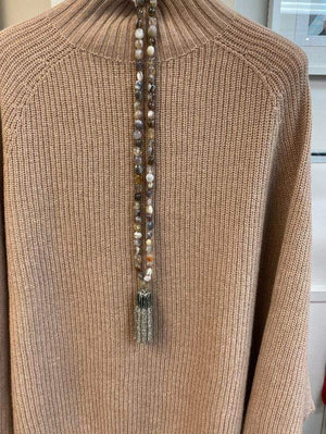 Weekend Max Mara Jewellery One Size Weekend Max Mara Gimmy Necklace With Bead Tassel 57510592 izzi-of-baslow