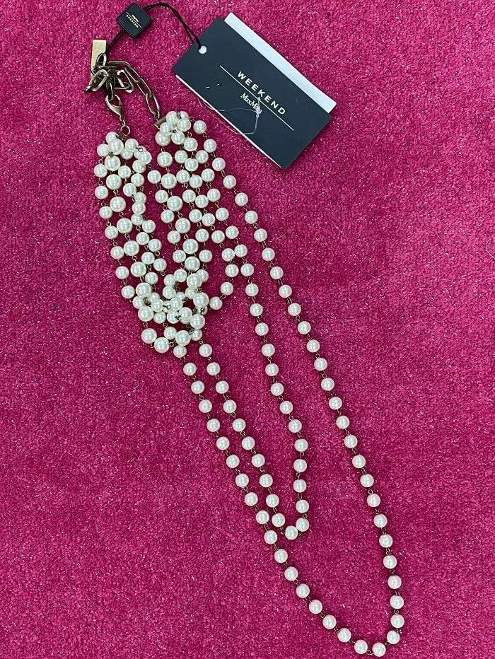 Weekend Max Mara Jewellery One Size Weekend Max Mara Matassa Pearl Necklace izzi-of-baslow