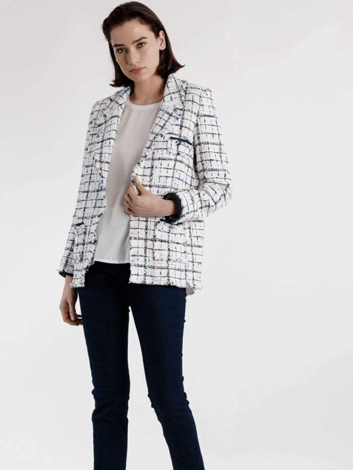 Weill Coats and Jackets Weill Long Sleeve Long Jacket Carolyn Jean 121015 izzi-of-baslow
