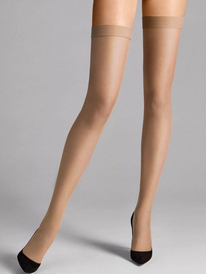 Wolford Accessories Wolford Individual 10 Stay-Up Tights Fairly Light 21663 izzi-of-baslow