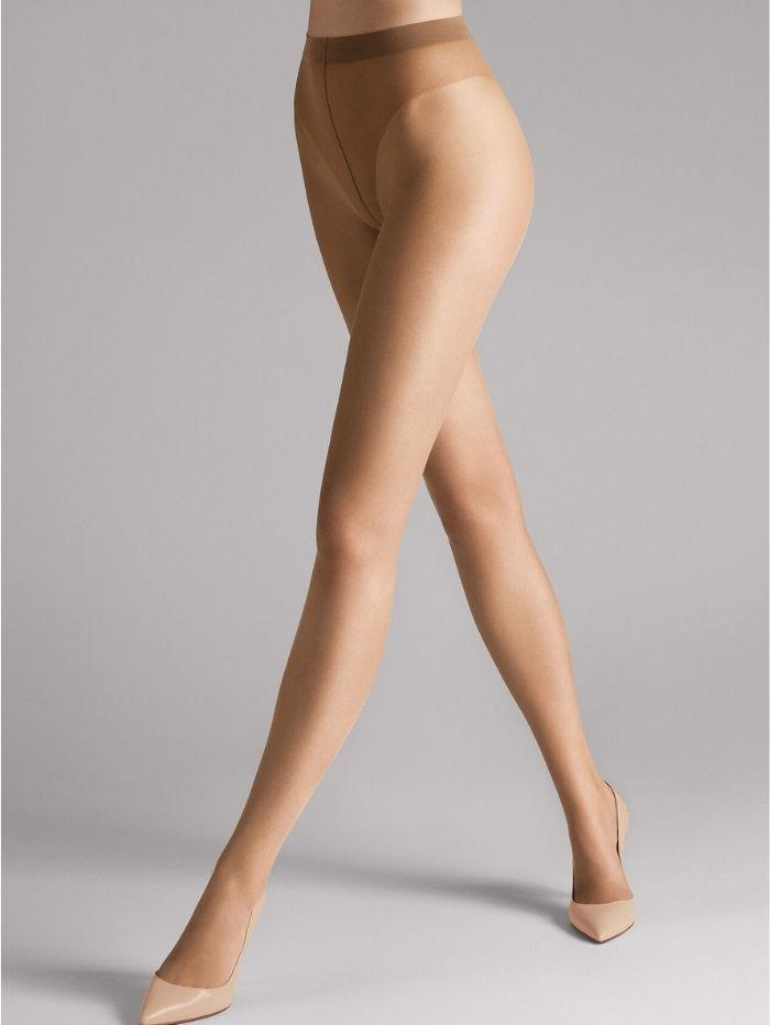 Wolford Accessories Wolford Luxe 9 Tights Sand 17028 izzi-of-baslow