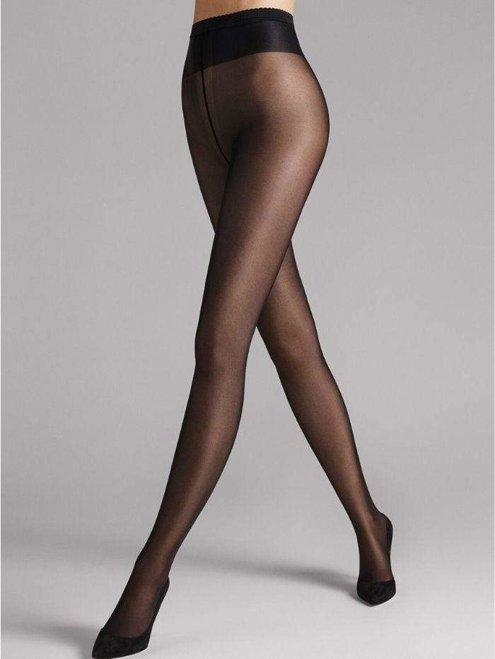 Wolford Accessories Wolford Neon 40 Tights Black 18391 izzi-of-baslow