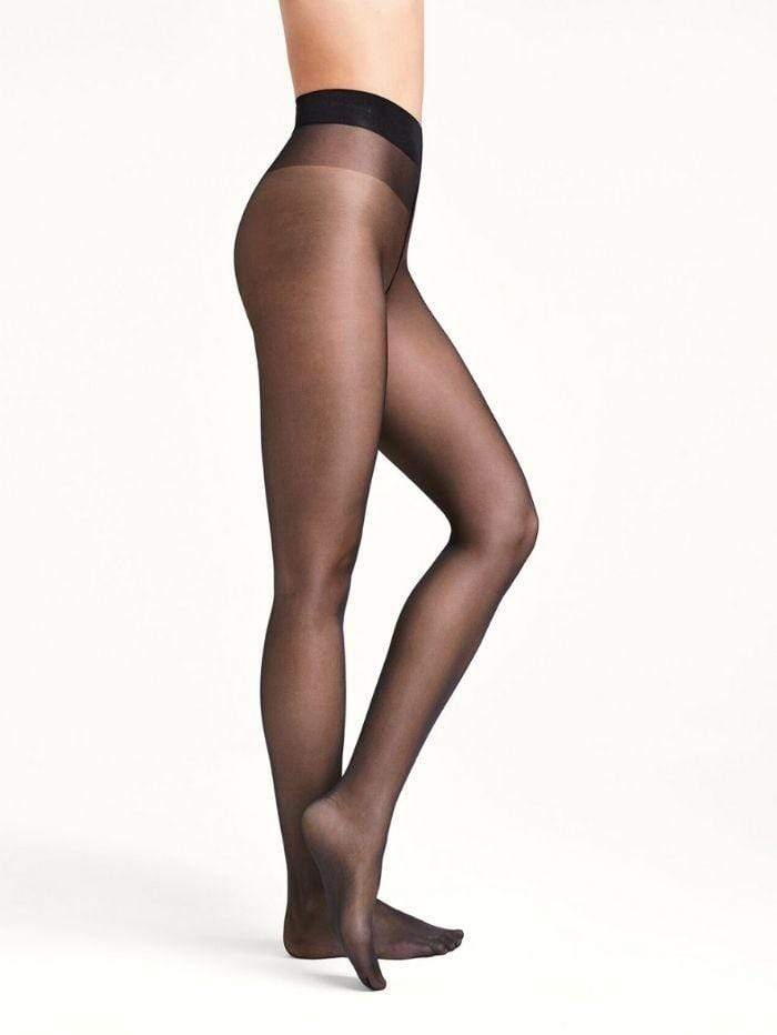 Wolford Accessories Wolford Satin Touch 20 Black Tights 18378 izzi-of-baslow