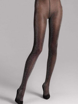 Wolford Accessories Wolford Stardust Tights Black 14509 izzi-of-baslow