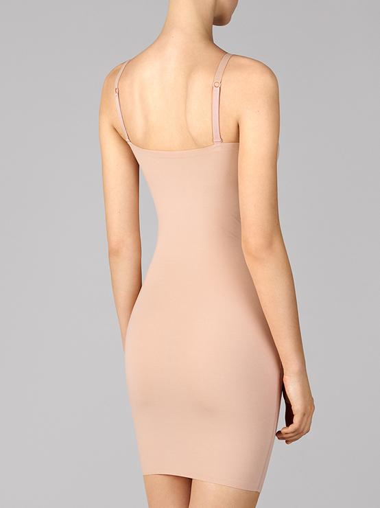 Wolford Body Wear By Wolford Wolford Cotton Contour Forming Dress Rose Tan izzi-of-baslow