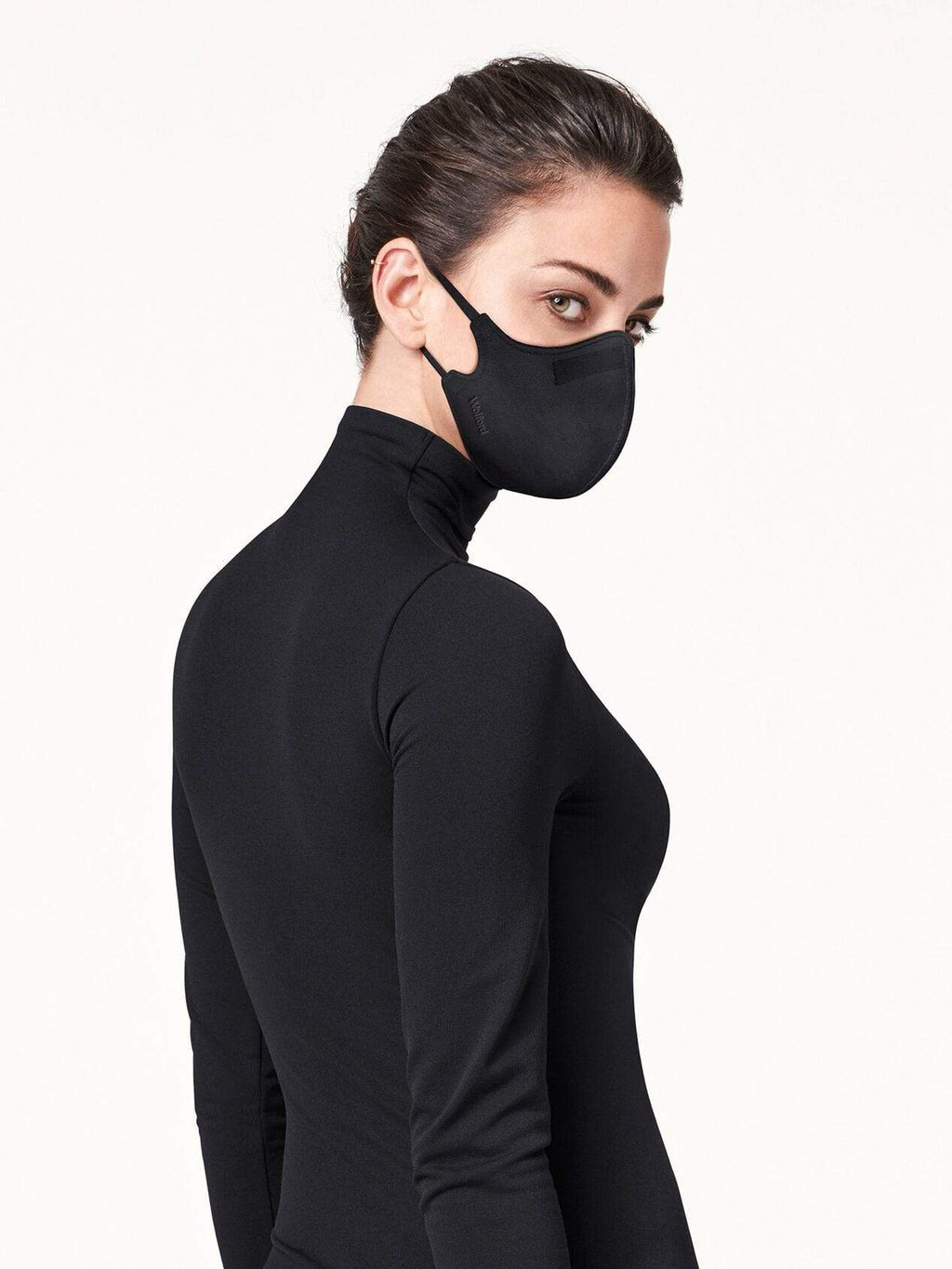 Wolford Ready To Wear By Wolford OS Wolford Care Black Face Mask 96237 izzi-of-baslow