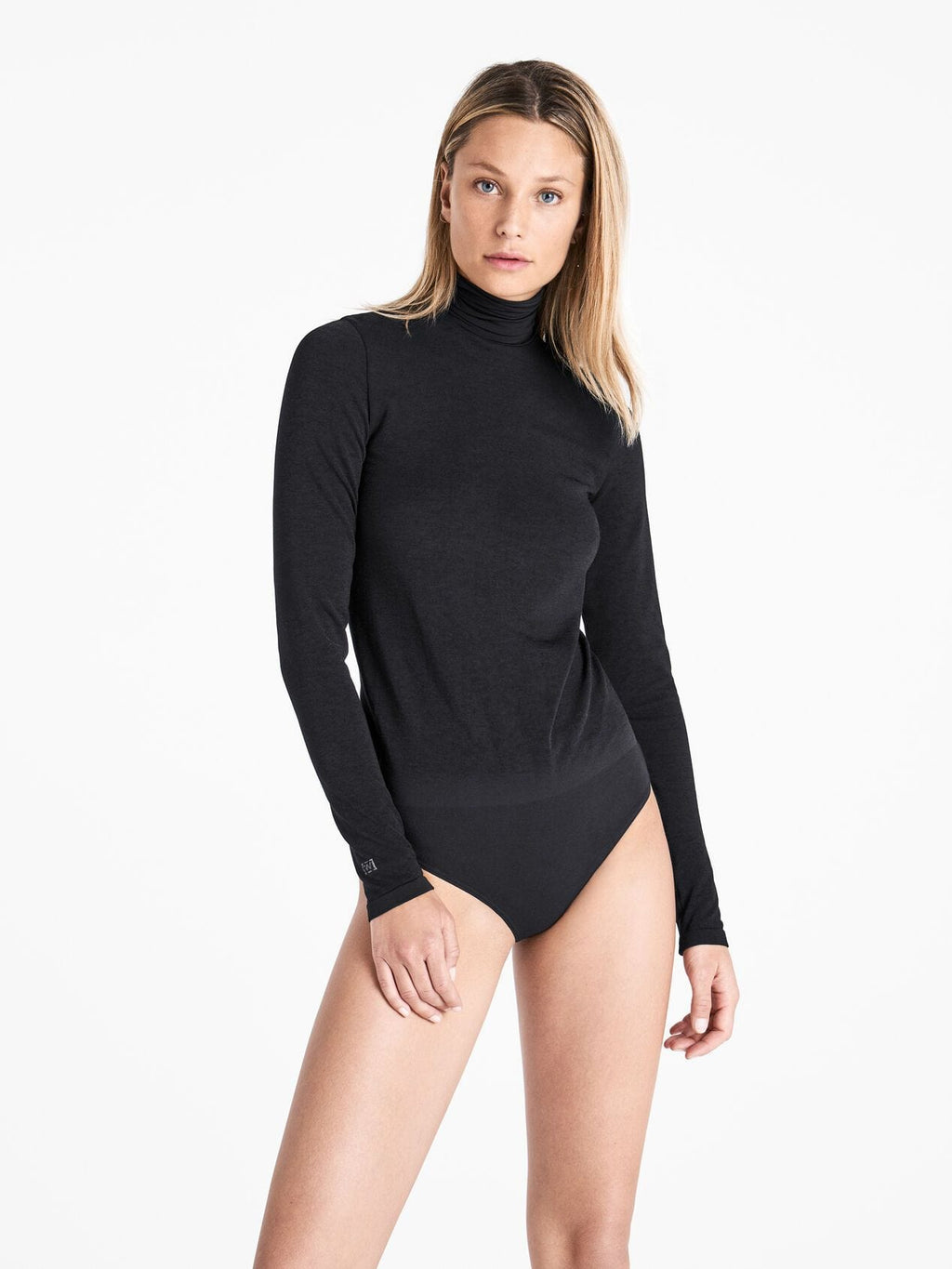 Wolford Ready To Wear By Wolford Wolford Black/Ash Colorado String Body izzi-of-baslow
