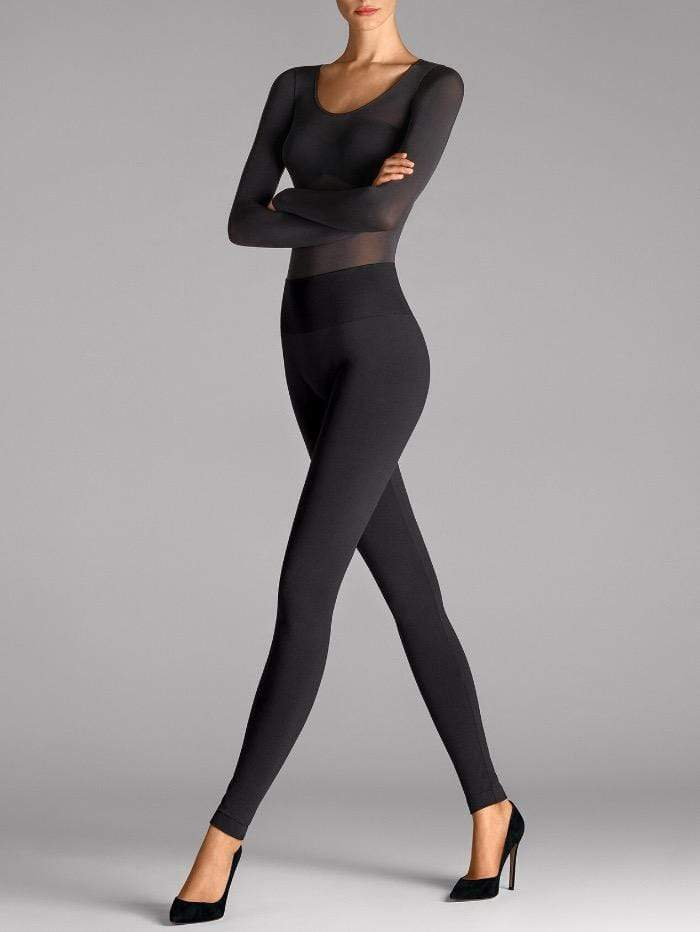 Wolford Ready To Wear By Wolford Wolford Black Perfect Fit Leggings 14554 7005 izzi-of-baslow