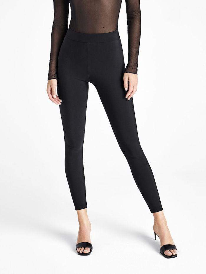 Wolford Ready To Wear By Wolford Wolford Black Scuba Leggings 19233 izzi-of-baslow