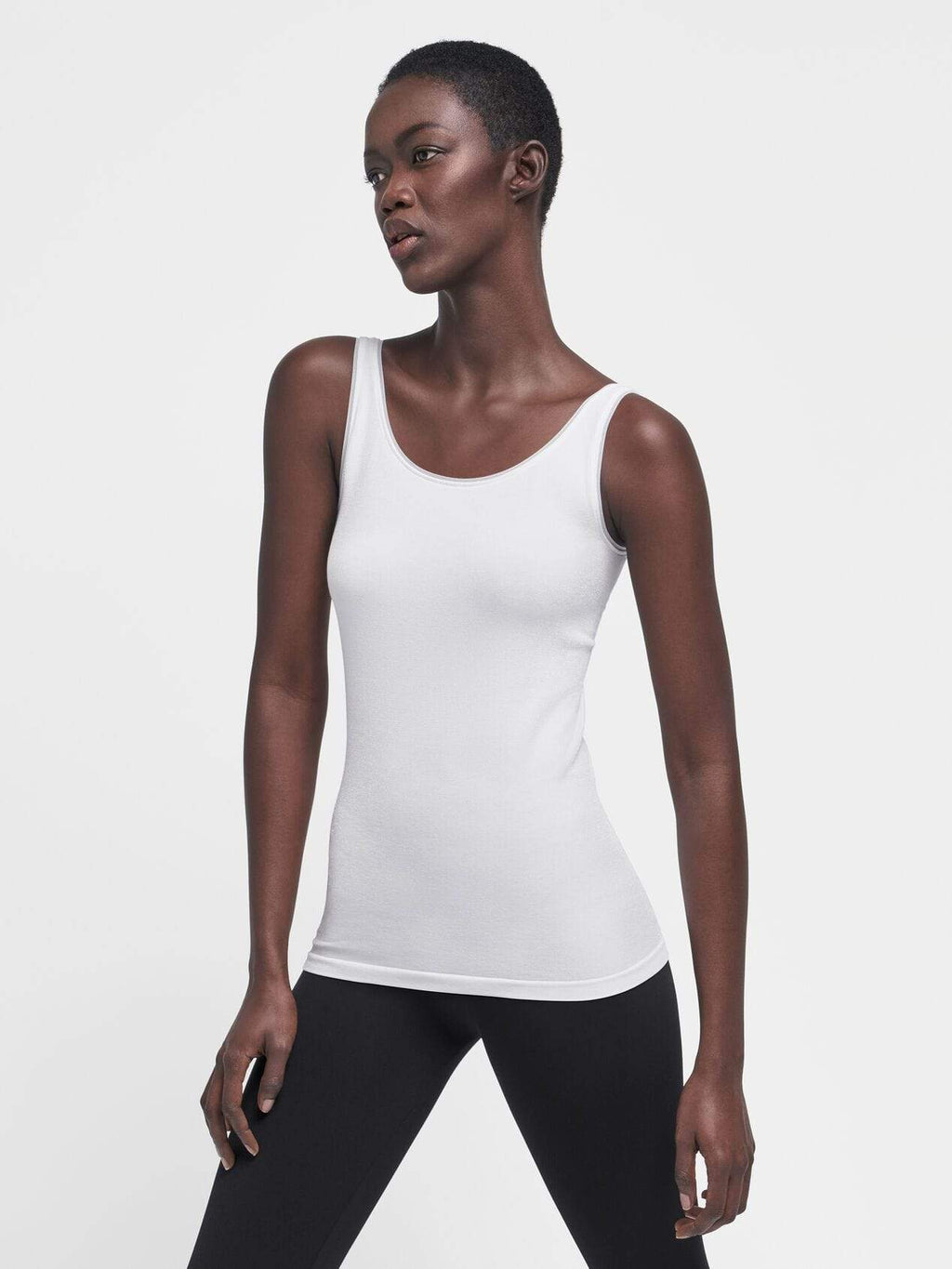 Wolford Ready To Wear By Wolford Wolford Jamaika Top White 55035 izzi-of-baslow