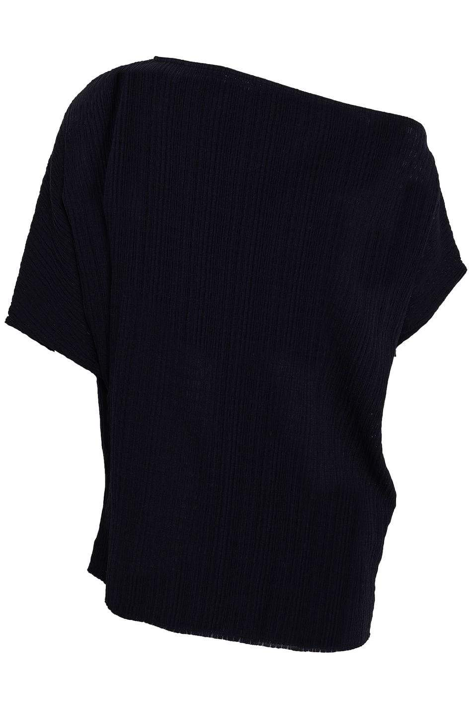 Wolford Ready To Wear By Wolford Wolford Navy Bondi Top izzi-of-baslow