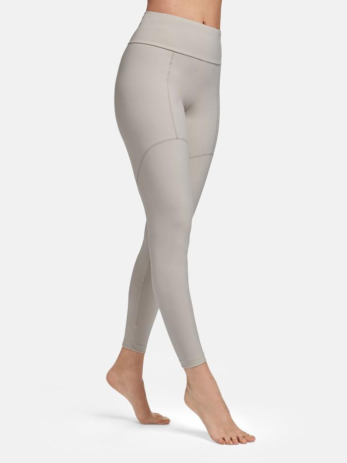 Wolford Ready To Wear By Wolford Wolford Tori Lunar and Black Leggings 19310 9577 izzi-of-baslow