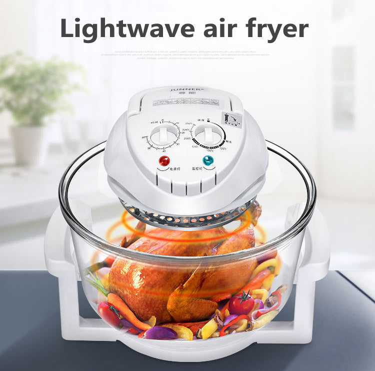 Multifunctional light wave air furnace
