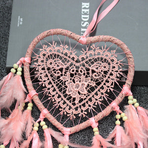 Light Up Dreamcatcher Wedding/Christmas Decor Dream Catcher with lights for bedroom
