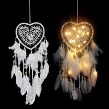 Load image into Gallery viewer, Light Up Dreamcatcher Wedding/Christmas Decor Dream Catcher with lights for bedroom