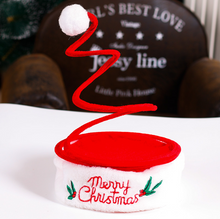 Load image into Gallery viewer, Funny Christmas Hat with Coil Spring Special Xmas Hats
