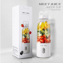 Load image into Gallery viewer, Harda Portable Blender Mini Smoothie Blender USB Personal Blender 500ml Juicer Cup Fruit Mixe.
