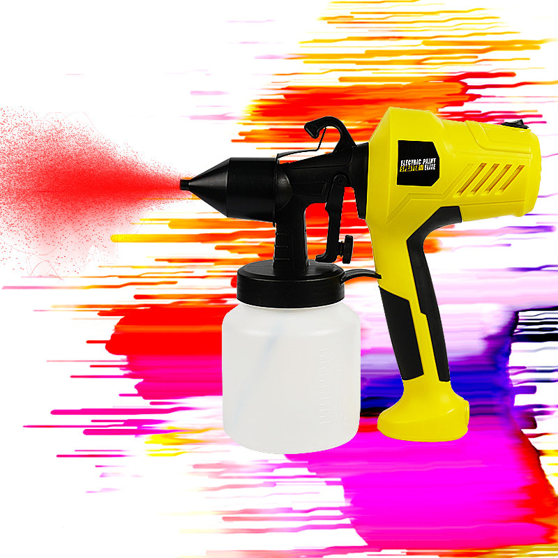 Portable high pressure spray gun