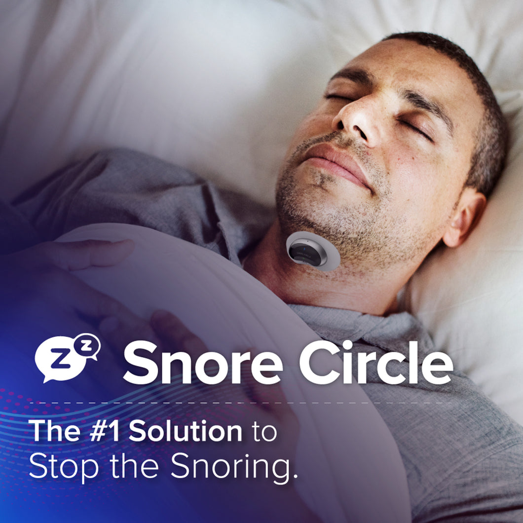 Snore Circle Smart Anti-Snoring Muscle Stimulator - Harda Ecosystem