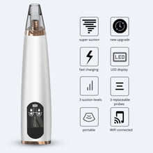 Load image into Gallery viewer, Harda Wireless Visual Blackhead Remover Vacuum Pore Cleaner Wifi Connection