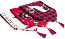Load image into Gallery viewer, Linen Christmas Table Runners Table Flags for Xmas Party Decor