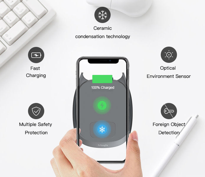 Mongda Fastest and Coolest Wireless Charger - Harda Ecosystem