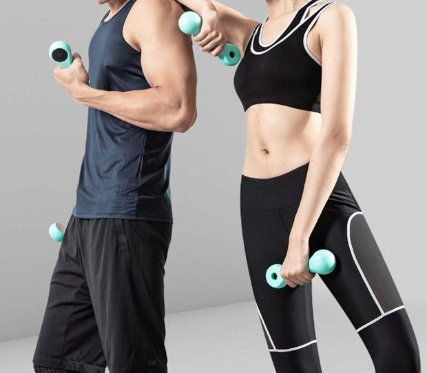 smart dumbbell compete