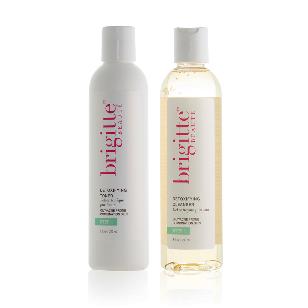 CLEANSE & TONE DUO: OILY-ACNE PRONE
