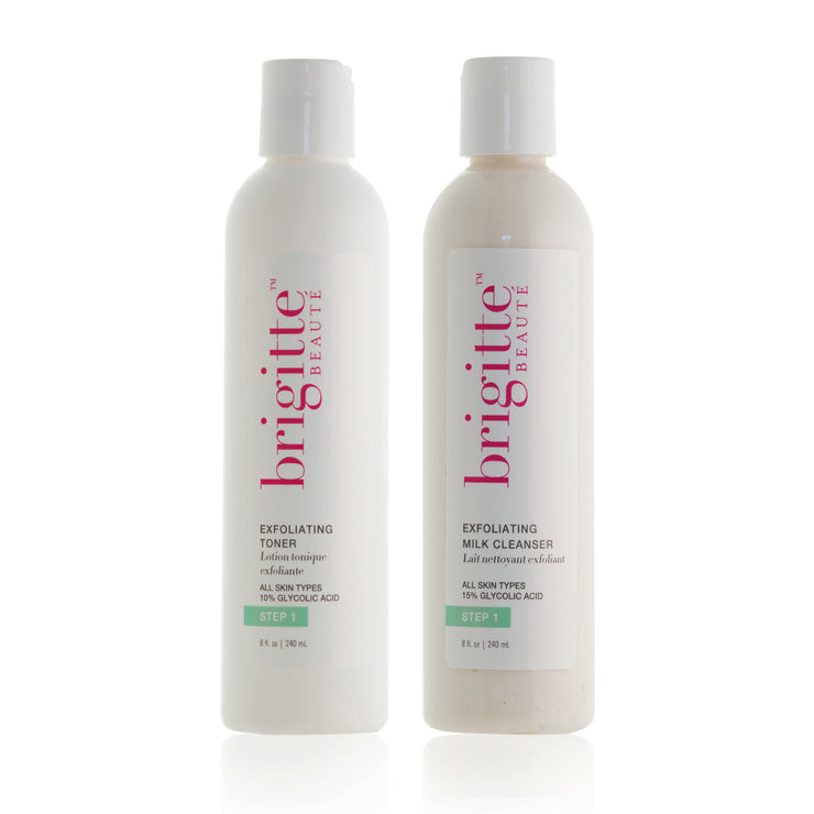 CLEANSE & TONE DUO: OILY, MATURE, SUN-DAMAGED