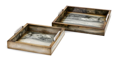 Bandejas Decorativas TY New Frontier Marly - Set de 2