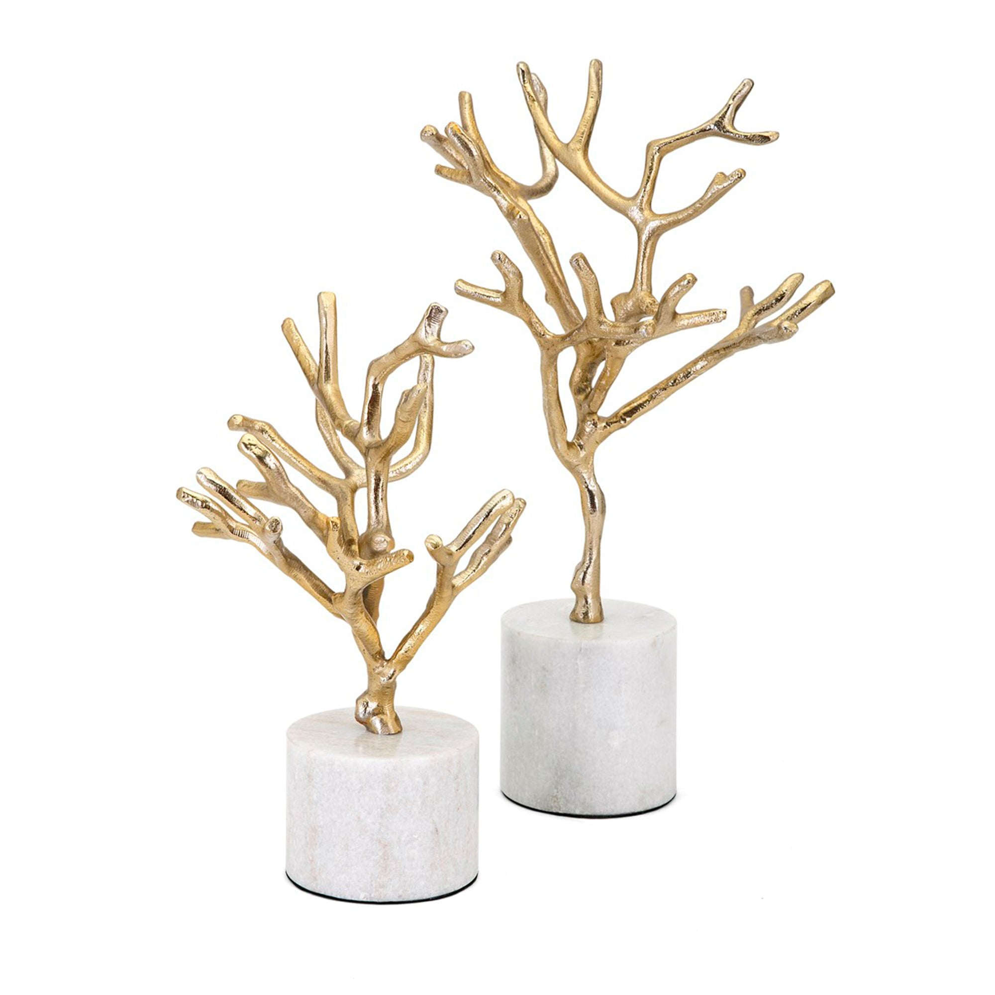 Escultura Concepts Eclipse Trees on Marble Base - set de 2