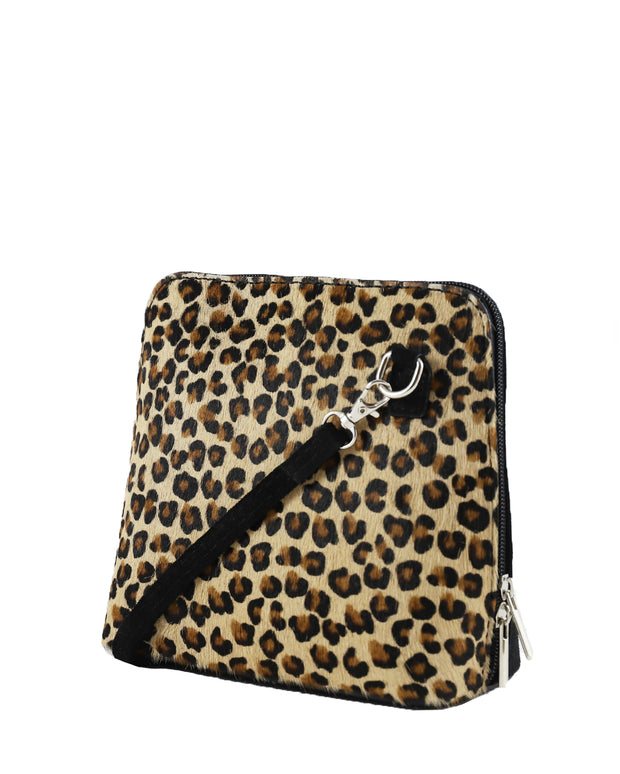 Leopard Cross Body Bag