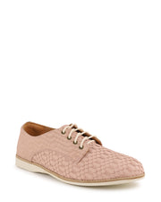 DERBY GEO - Flat Lace Up