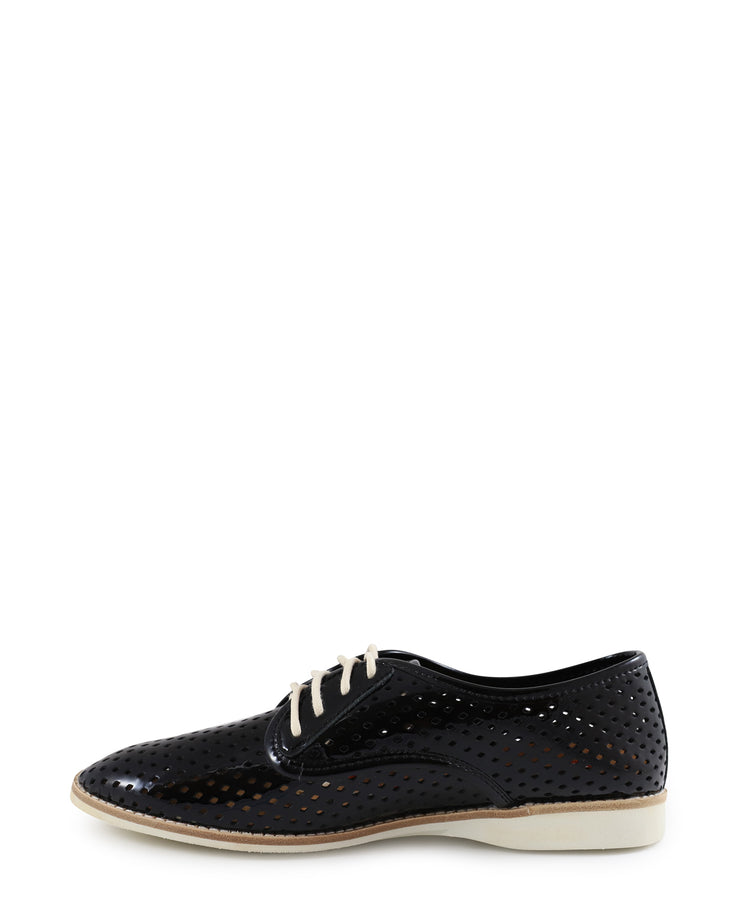 Flat Lace Up Patent