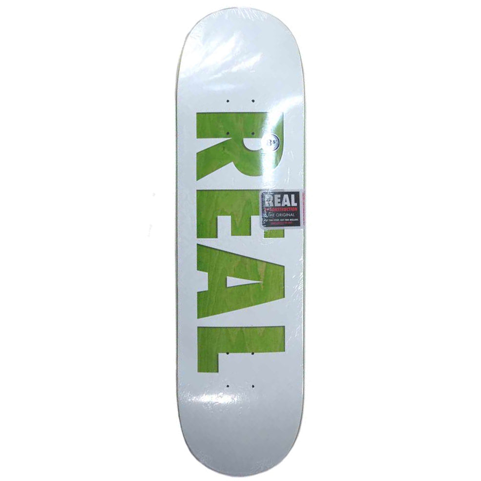 Real Bold Team White Deck - 8.5
