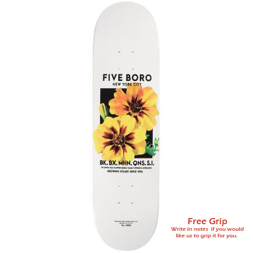 5Boro Flower Seed Deck - Yellow - 8.25