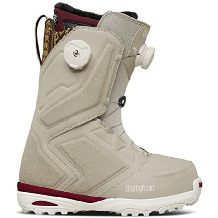 32 Binary Boa Womens Snowboard Boots - Grey/Burgundy