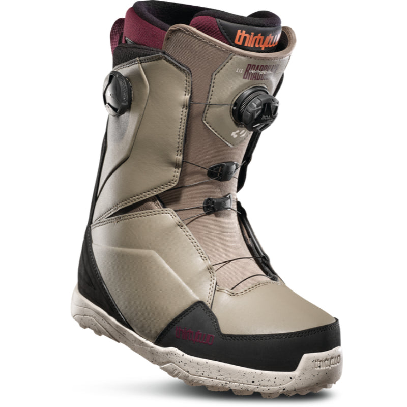 32 Lashed Double Boa Snowboard Boots Mens - Olive