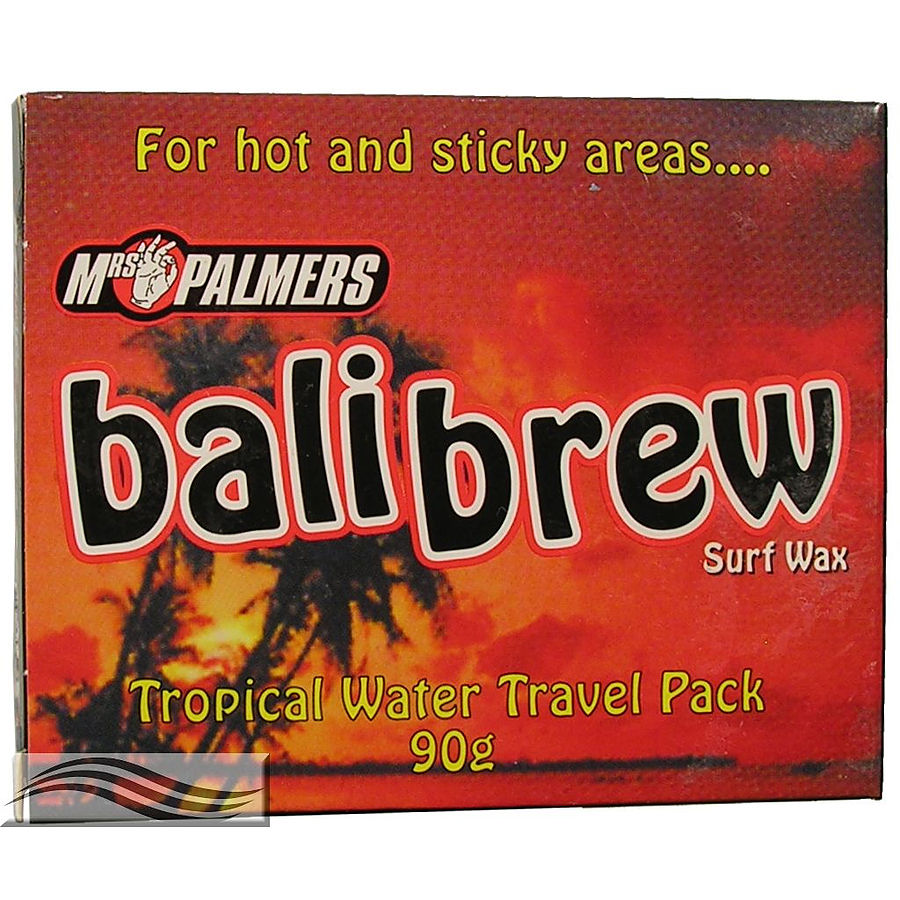 Mrs Palmers Surf Wax - Bali Brew