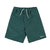 Polar Stripe Swim Shorts - Mens - Dark Green