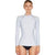 Oneill Basic Skins L/S Crew Rash Shirt - Womens - Grey Dawn